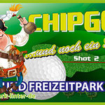 PVC Banner Sportpark Linter Chip Golf