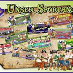 Schild Sportarten Sportpark Linter