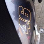 Motorradaufkleber Rossi 46 Vale Yamaha Fazer FZS 1000