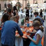 Abschlussfest im Schlüterhof des Deutschen Historischen Museums