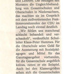 Landeszeitung 26./27.11.2011