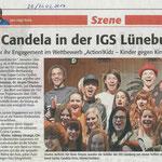 140329 Lünepost - Kindernothilfe - Culcha Candela - Artikel