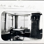 Stube im Hesse Haus auf dem Erlenloh
