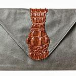 """Envelope"" croc"
