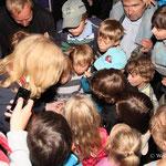 Erfreulich viele wissbegierige Kinder waren dabei