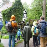 Erste Inforunde beim Start an der Bremsdorfer Mühle