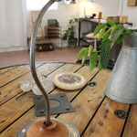 N°60 ancienne lampe d'atelier