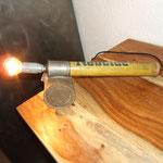 N°51 Pompe insecticide ampoule calotte argentée (vendue)
