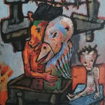 crucifixion 50x60