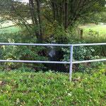 Gefahrenquelle bei Hochwasser