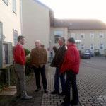 im Gespräch mit Bürgermeister Klug