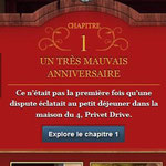 "Source : Page Facebook ""Pottermore France"""