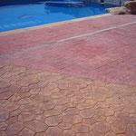 Pavimento impreso en Orihuela
