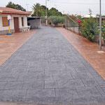 Pavimento para patios en Fortuna