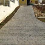 Pavimento para patios en Pinoso