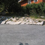 Moldes de adoquín en Orihuela