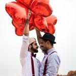 Hochzeitsfeier mit 2 Männern