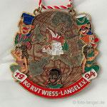 K.G. Rut-Wiess Löstige Langeler e.V. - 1994 - En Langel  es de Welt zohus