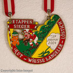 K.G. Rut-Wiess Löstige Langeler e.V. - 2004 - Etappemsieger em Endspurt 2004