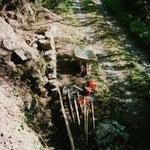construction rampe près des Fontaines d'Escot
