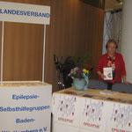 Der Infoermationsstand des Landesverbandes Baden-Württemberg