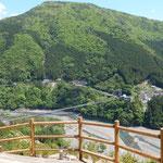 日本一 谷瀬の吊橋 展望台