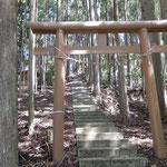 森山神社 石段
