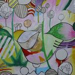 Werknummer 1.2: Acryl auf Papier, 42x56 cm, 480,- €