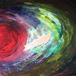 Werknummer 7.7: Acryl auf Leinwand, 100x70 cm, 1600,- €
