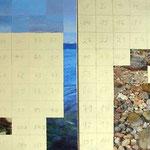 Werknummer 3.4: Diptychon,  Acryl auf Leinwand, je 70x100 cm,  2100,- €