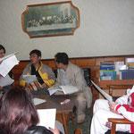 2012年3月31日 WYDリオ大会2013の準備会として、ブラジル人青年との交流会