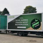 LKW- und Anhängerbeschriftung Jedanowski Gartenbau