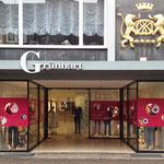 Beschriftung Ladenlokal Grünhart Aktion