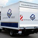 LKW-Beschriftung Buchbinderei Terbeck