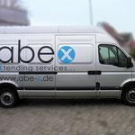 Fahrzeugbeschriftung Abex
