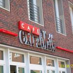 Einzelbuchstabenanlage Cafe Extrablatt