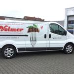 Fahrzeugbeschriftung Fleischerei Volmer