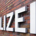 Einzelbuchstaben Polizei NRW