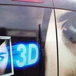 Fahrzeugbeschriftung Radio Lemming Detail