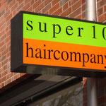 Nasenschild Ausleger Verklebung Super 10 Haircompany