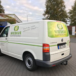 Fahrzeugbeschriftung Wieskus Elektrotechnik