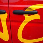 Fahrzeugbeschriftung Casino Coesfeld Restaurant Caterina Service Detail 2