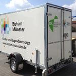 Anhänger Beschriftung Bistum Münster