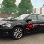 Fahrzeugbeschriftung WTG Leitstellentechnik GmbH