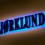 Profilanlage Lichtwerbung Björklund