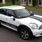 Fahrzeugbeschriftung Scheipers und Scheipers Mini Cooper