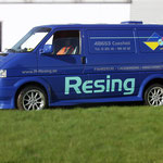 Fahrzeugbeschriftung Fahrzeug-Lackiererei Resing