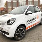 Fahrzeugbeschriftung Expert