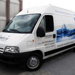 Fahrzeugbeschriftung Getränkehandel Niewerth Digitaldruck