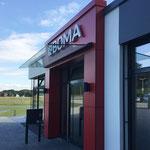 Boma Maschinenbau GmbH Borken EInzelbuchstabenanlage Eingangsbereich
